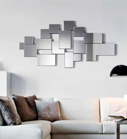 ESPEJO CRISTAL MIAMI, espejo decorativo de diseño italiano ...