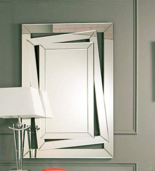 ESPEJO DOBLE MARCO MOBIMUNDO, espejo decorativo de diseño italiano ...