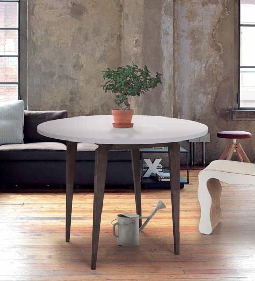 MESA REDONDA PONTIAC, mesa de comedor perfecta para las reuniones de ...