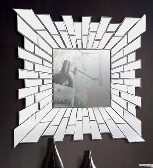 Espejo cristal domine dise ado nicamente para for Cristal espejo