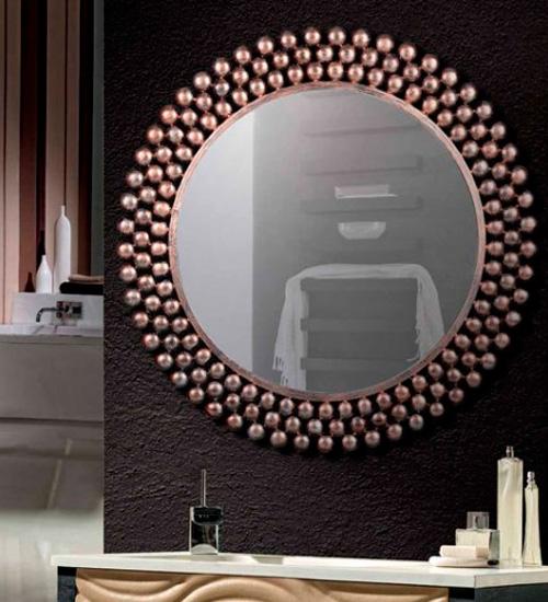 Espejo decorativo envejecido con dise o moderno ideal para for Espejos modernos baratos