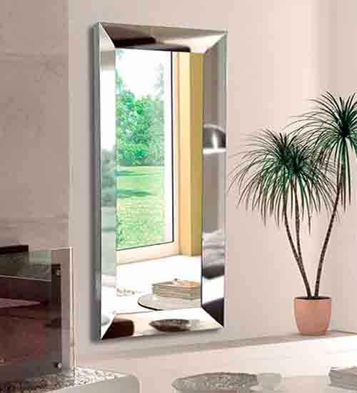 Espejo vestidor acero inox como espejo para el comedor o for Espejos para vestidor baratos