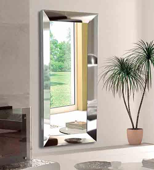 Espejo vestidor acero inox como espejo para el comedor o for Espejos de vestidor