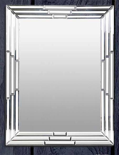 Espejo de cristal biselado ideal para hogares decorativos for Cristal espejo