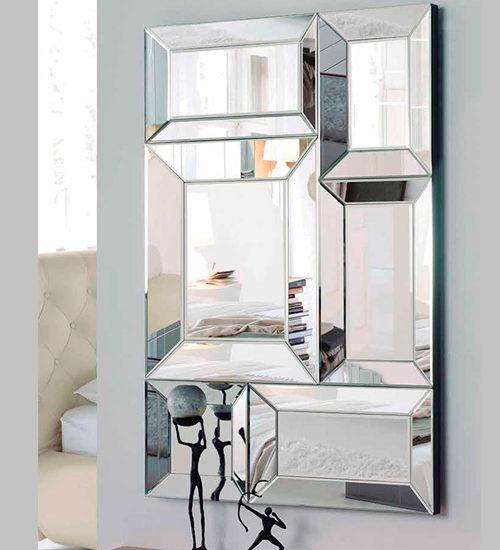 Los espejos de cristal son los espejos m s vendidos en la for Oferta espejos pared
