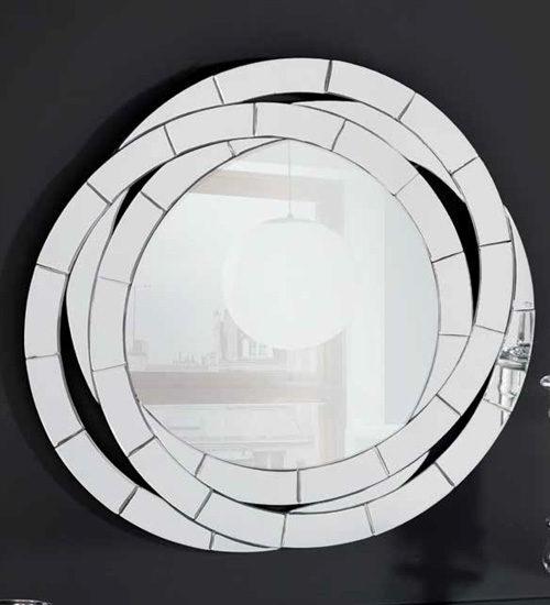 espejo circular de pared con dise o decorativo perfecto