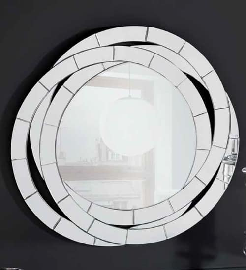 espejo circular de pared con dise o decorativo perfecto