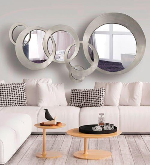 Recibidor de dise o bianca de dise o original y funcional for Espejos de diseno para recibidor