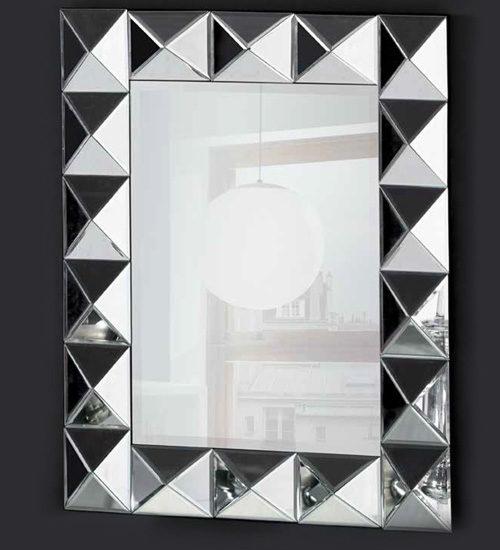 Espejo plata vestidor para decoraciones con estilo y elegancia for Espejo rectangular plateado