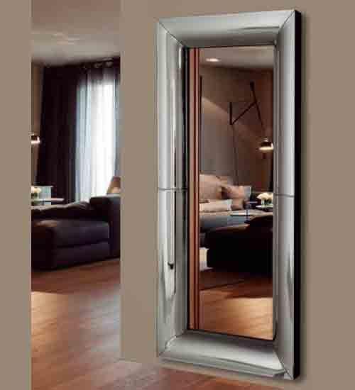 Espejo vestidor c pula espejo de gran dimensi n para - Recibidores de diseno italiano ...