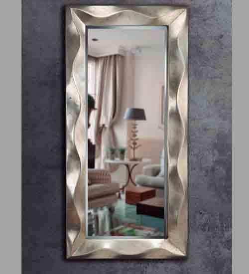 Espejo vestidor ondas dise o italiano ideal para la for Espejos modernos baratos