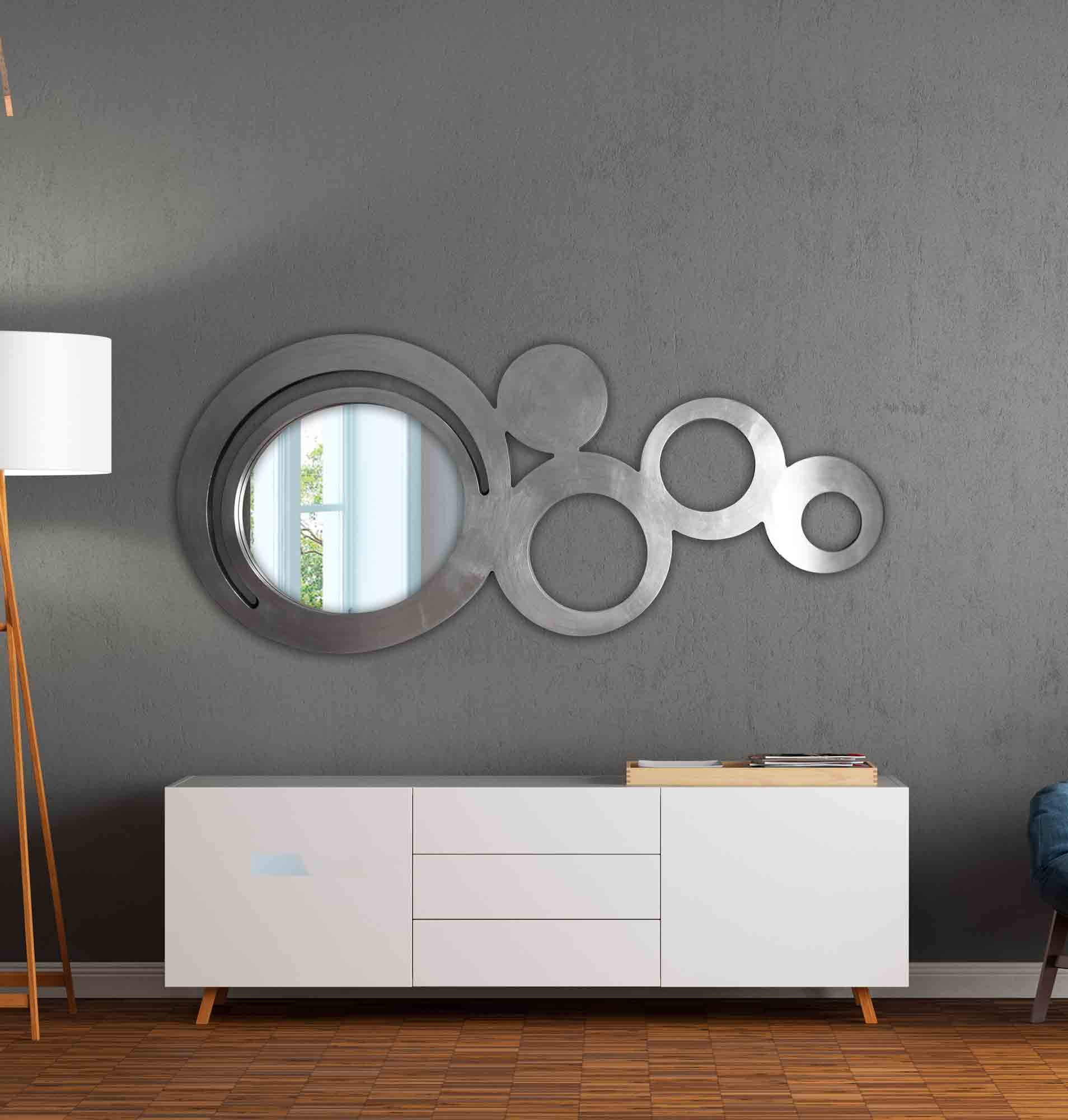 Espejo recibidor redondela art culo nico que podr s for Oferta espejos pared
