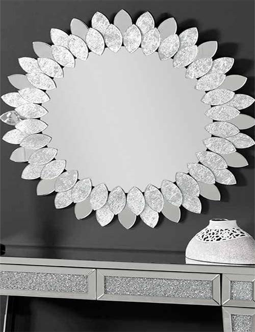 Espejo moderno con marco biselado ideal para decorar for Espejo con marco biselado