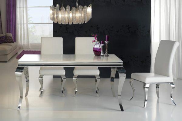 Mesa comedor diamond acero dise o italiano para la decoraci n integral de ambientes modernos y - Recibidores de diseno italiano ...