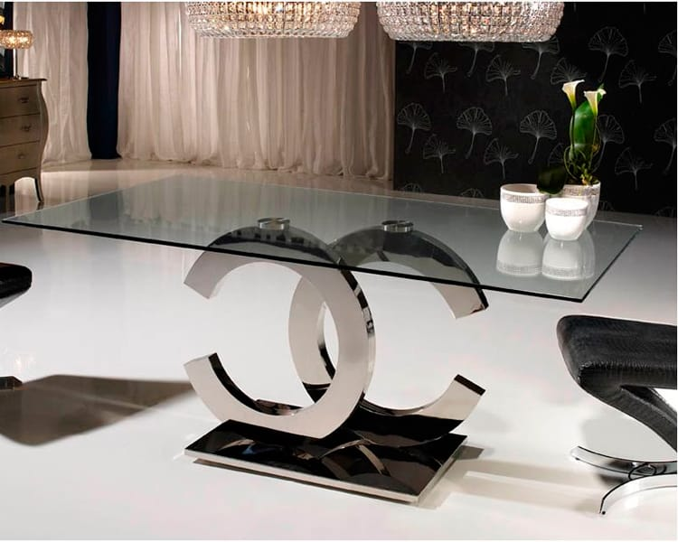 Mesa de comedor calima dise o italiano para la decoraci n for Mesas de comedor de diseno italiano