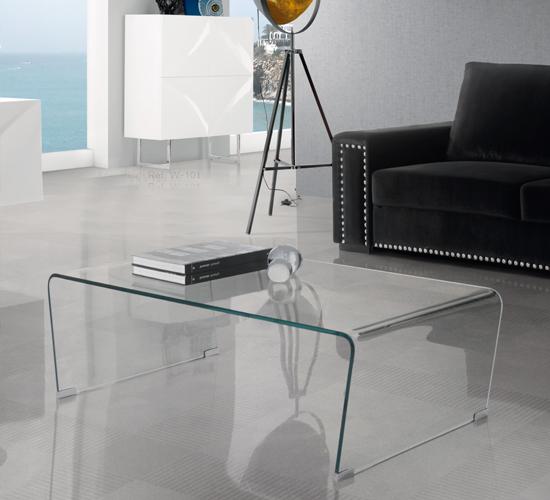 Mesas de Cristal de Centro LISITEA