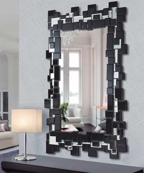 espejo moderno bicolor manhathan