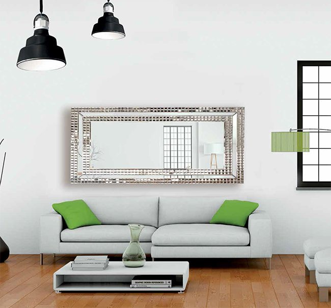 Espejo vestidor bello espejo de dise o exclusivo italiano - Espejos diseno italiano ...