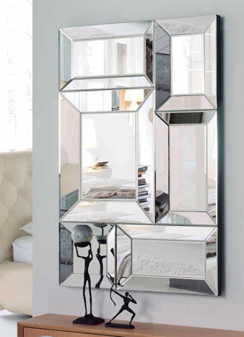 Espejo aparador reflejos dise o italiano pensado para ambientes modernos y con originalidad - Recibidores de diseno italiano ...