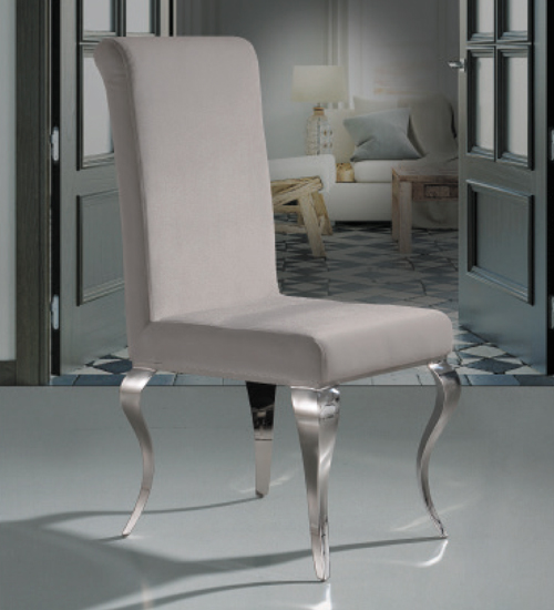 silla barroque acero dise o italiano para la decoraci n