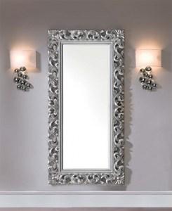 Espejo rustico de pared decorativo perfecto para tu decoraci n - Espejos color plata ...