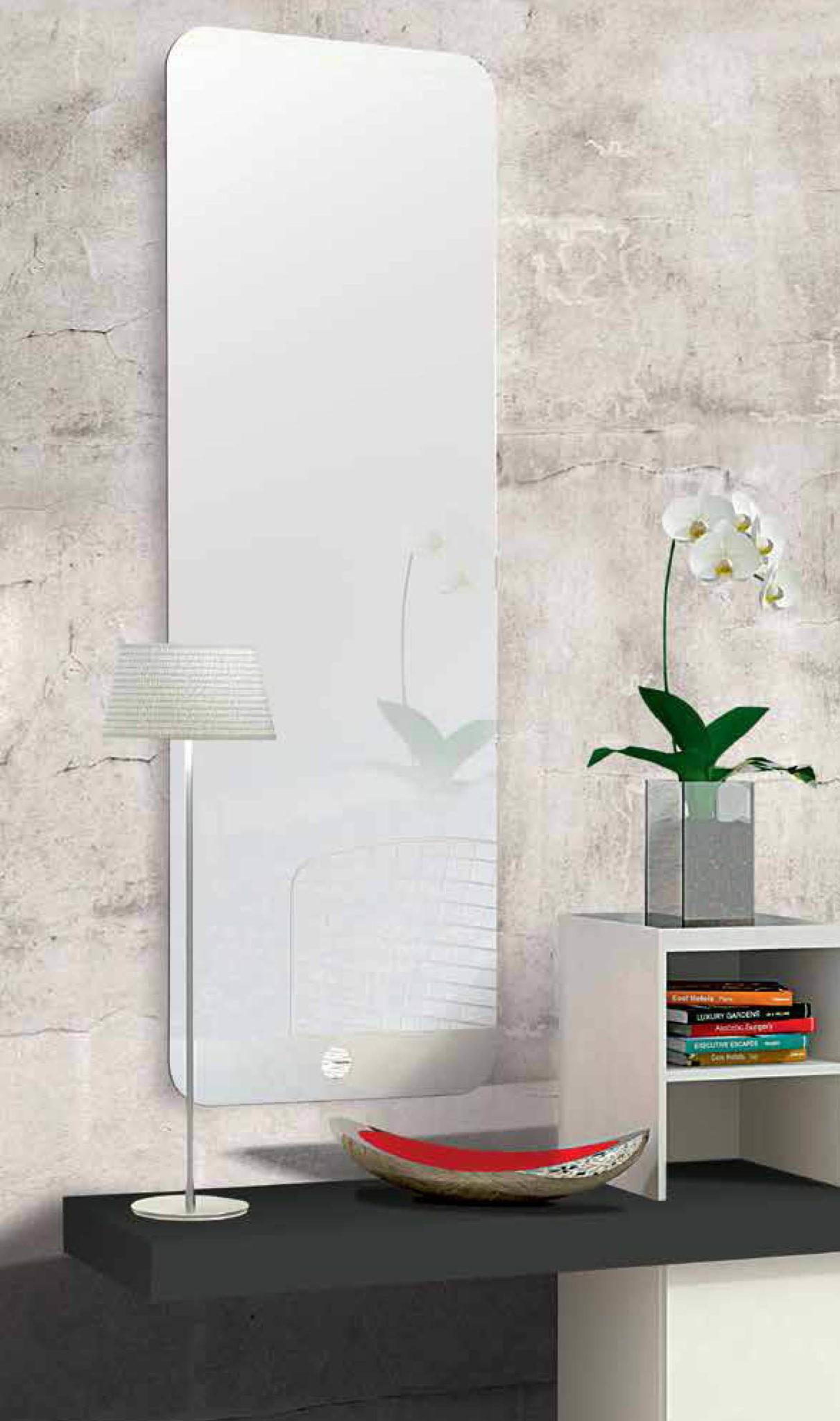 Espejo rectangular pelayo de cristal para viviendas - Cristal de espejo ...