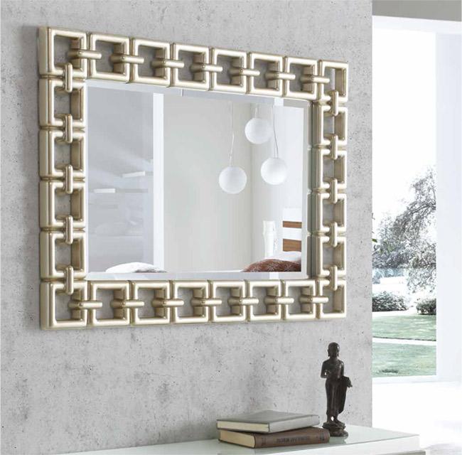 Espejo escocia plata dis arte para la decoraci n de for Espejos horizontales para comedor