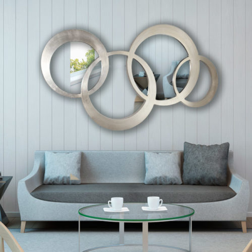 Espejo recibidor redondela art culo nico que podr s for Oferta espejo pared