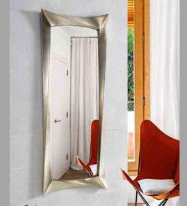 Espejos xxl para tu casa de pared envios gratis para ti for Espejo rectangular plateado