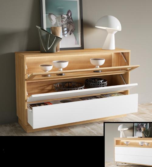 Aparador comedor koom mueble auxiliar ideal para poner - Mueble aparador para comedor ...