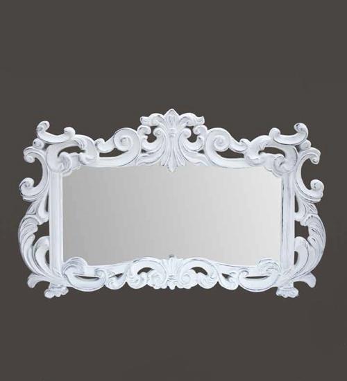 Espejo blanco fuensanta para decoraciones diferentes y - Recibidores de diseno italiano ...