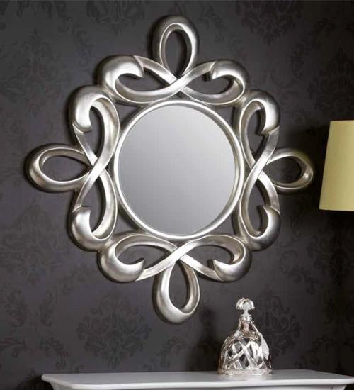 Espejo calado liras para decoraciones diferentes y for Espejos dorados baratos