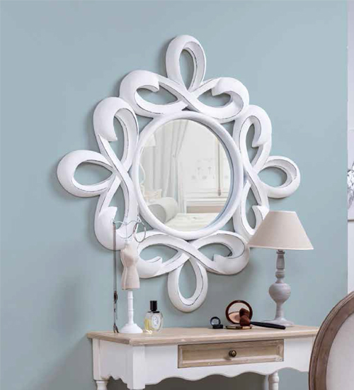 Espejo calado liras para decoraciones diferentes y - Recibidores de diseno italiano ...
