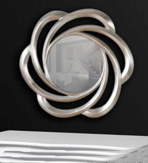 Espejo calado platinium para decoraciones diferentes y - Recibidores de diseno italiano ...