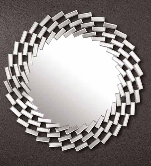 Muebles De Peluqueria Baratos : Espejo cristal reflejos para pared ideal la