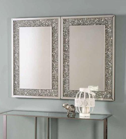 Recibidor cromado archivos espejos de pared for Espejos decorativos modernos