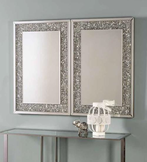 Espejo de pared luna como espejo redondo de comedor o for Oferta espejo pared