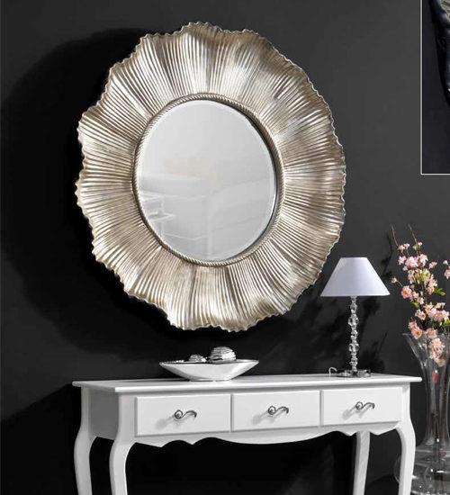 Espejo de pared margarita para decoraciones diferentes y - Recibidores de diseno italiano ...