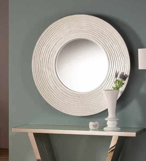 Espejo decorativo rodas para decoraciones diferentes y - Espejos diseno italiano ...