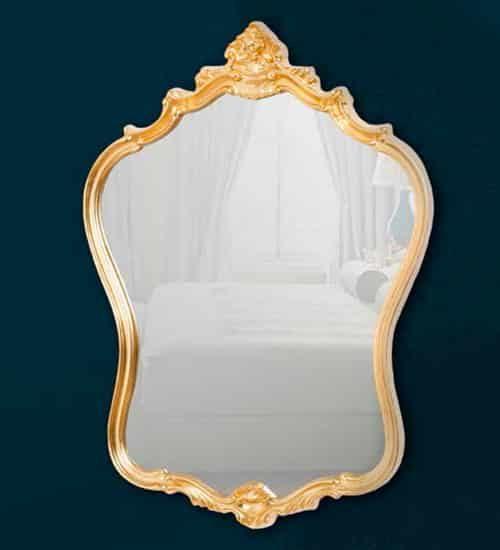 Espejos dorados archivos espejos de pared for Espejos decorativos dorados