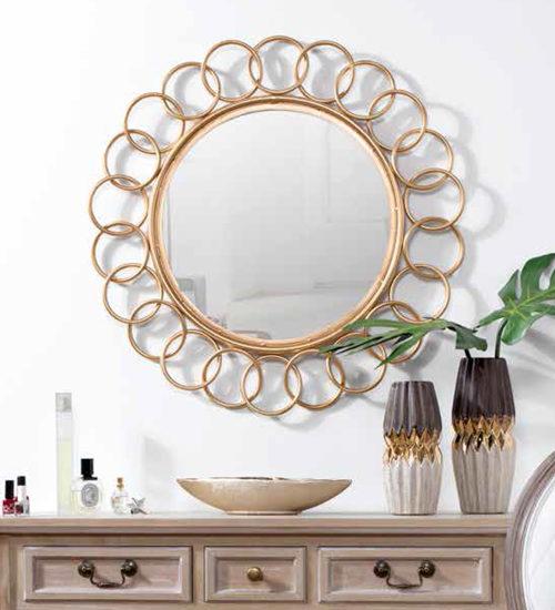 Espejo metal bruguer para decoraciones diferentes y - Recibidores de diseno italiano ...