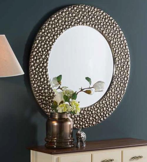 Espejo moderno milos para decoraciones diferentes y - Recibidores de diseno italiano ...
