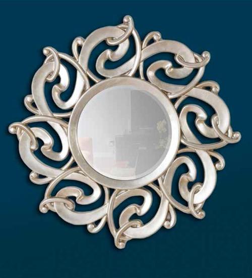 Espejo plateado galileo para decoraciones diferentes y - Recibidores de diseno italiano ...