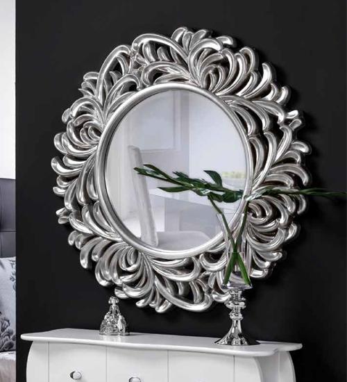 Espejo redondo palmera para decoraciones diferentes y for Espejos redondos baratos