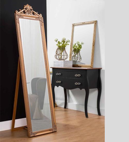 Espejo vestidor rustik oro ideal para la decoraci n for Espejos de vestidor