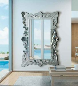 Espejo Vestidor Veneciano de Cristal