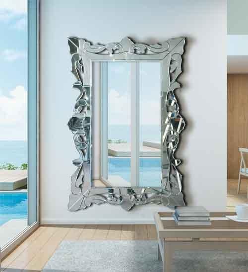 espejo vestidor Sena Dis-arte Espejo Vestidor Veneciano de Cristal