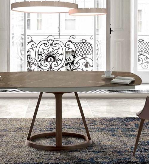 MESA COMEDOR ALICE, mesa decorativo utilitaria Nacher de diseño ...