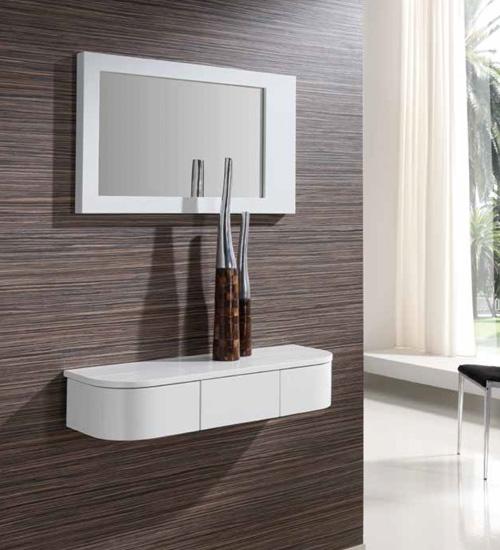 Consola moderna mia perfecta consola para la decoraci n integral de tu casa con ambiente - Consolas recibidor modernas ...