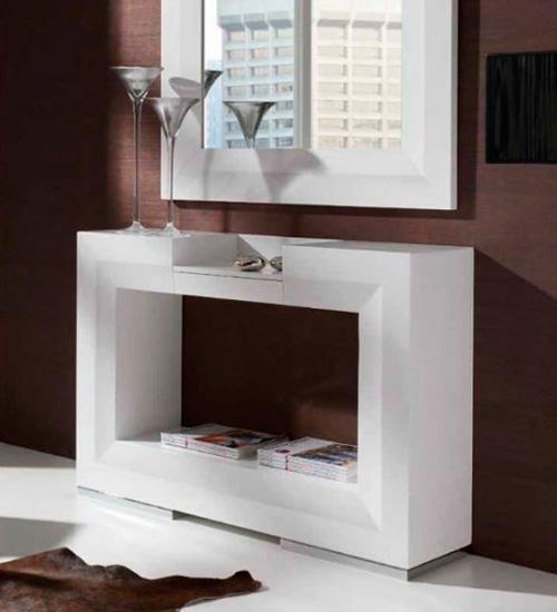 Consola recibidor twin perfecta consola para la decoraci n integral de tu casa con ambiente - Recibidores de diseno italiano ...